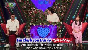 Cô giáo mũi 'thính' mong ước gặp chàng trai có gót chân hồng trong show hẹn hò