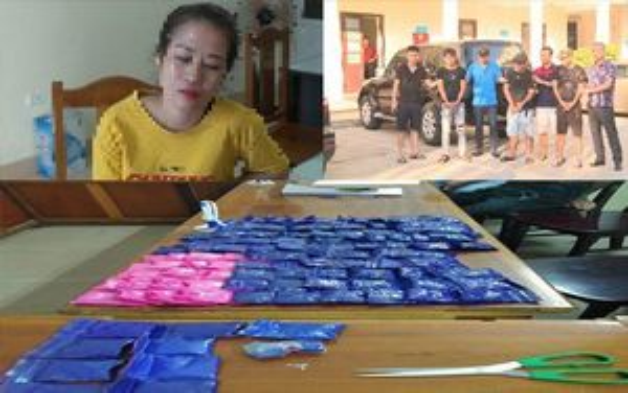 Thanh Hóa: Bắt giữ 4 đối tượng trong đường dây mua bán, vận chuyển ma túy xuyên quốc gia