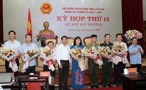 Phê chuẩn Phó Chủ tịch UBND tỉnh Lào Cai