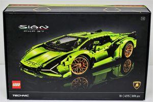 Đập hộp Lamborghini Sian phiên bản lego trị giá 374 USD