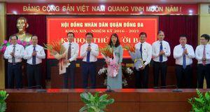 Đồng chí Đặng Việt Quân được bầu giữ chức Chủ tịch UBND quận Đống Đa