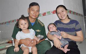Gia đình là sức mạnh tinh thần to lớn đối với những người lính Biên phòng