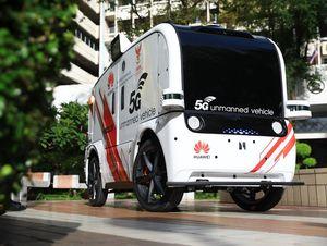 Bệnh viện thông minh Thái Lan thử nghiệm xe không người lái 5G