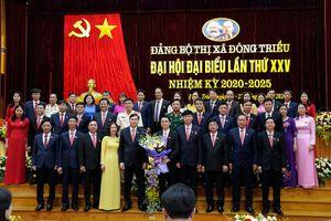 Đại hội Đại biểu Đảng bộ TX Đông Triều lần thứ XXV thành công tốt đẹp