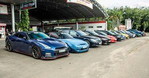 Giới chơi xe thể thao Nhật tụ họp: Có xe độ cả nửa tỷ, Honda Civic độc nhất Việt Nam