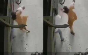 Người đàn ông thừa nhận túm tóc bạn gái đang bế con nhỏ 5 tháng tuổi ngã ngửa xuống đất vì... cục tính