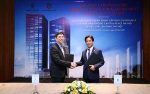 Capital Place và The Sankei Building ký hợp tác