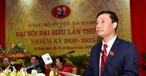 Ông Hoàng Anh Cương tái cử Bí thư Huyện ủy Na Hang