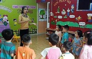 Hỗ trợ giáo viên mầm non trong việc phát triển kỹ năng tiền đọc viết của trẻ