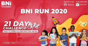 Khởi động giải chạy trực tuyến BNI RUN 2020 nhằm ủng hộ giáo dục trẻ em