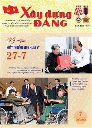 Giới thiệu nội dung Tạp chí Xây dựng Đảng in số tháng 7-2020