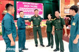 Nâng cao chất lượng quản lý, rèn luyện kỷ luật trong quân đội
