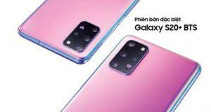 Samsung ra mắt phiên bản đặc biệt Galaxy S20+ BTS ở Việt Nam