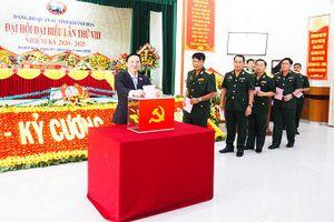 Đại hội Đảng bộ Quân sự tỉnh Khánh Hòa lần thứ VIII