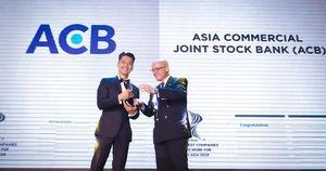 HR Asia vinh danh ACB