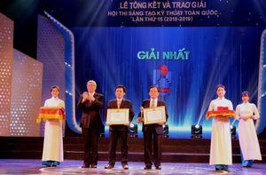 4 giải pháp ngành Dầu khí đạt giải trong Hội thi Sáng tạo Kỹ thuật toàn quốc lần thứ 15