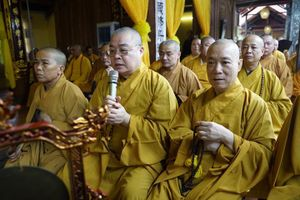 Hà Nội : Lễ nhập kim quan Ni trưởng Thích Đàm Nhâm