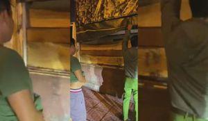 Đắk Lắk: Phát hiện xe tải chở 31 hộp gỗ lậu trên đường đi tiêu thụ