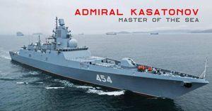Khu trục hạm Đô đốc Kasatonov sắp gia nhập Hải quân Nga