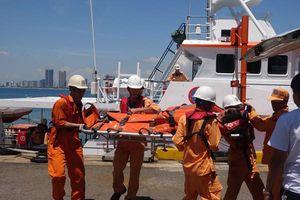 Cấp cứu kịp thời thuyền viên bị đau ruột thừa trên biển