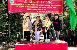 Hoạt động từ thiện tại Đồng Tháp, Khánh Hòa, Nghệ An