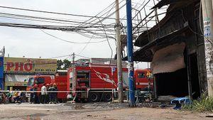 Cháy tiệm cầm đồ, ba người tử vong