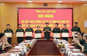 Khen thưởng các tập thể, cá nhân có thành tích xuất sắc tham gia giải thưởng Tuổi trẻ sáng tạo trong Quân đội