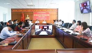 Hội nghị Báo cáo viên trực tuyến tháng 7/2020