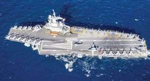 Pháp sắp đóng tàu sân bay mớI