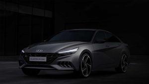 Lộ diện ngoại thất của Hyundai Elantra N line 2021