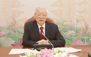 Tổng Bí thư, Chủ tịch nước Nguyễn Phú Trọng điện đàm với Chủ tịch CPP, Thủ tướng Cam-pu-chia Hun Xen