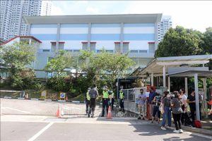 Cử tri Singapore bắt đầu bỏ phiếu bầu Quốc hội