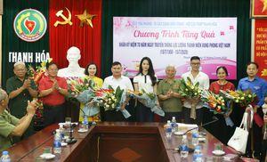 Tặng quà tri ân cựu thanh niên xung phong Thanh Hóa