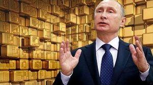 Vàng đại nhảy vọt, Nga hái quả ngọt với sách lược Putin