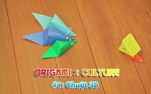 Sáng tạo với nghệ thuật gấp giấy Origami