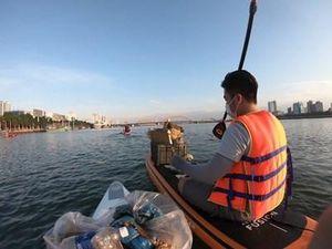 Góp phần làm sạch, đẹp sông Hàn