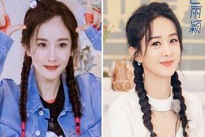 Triệu Lệ Dĩnh bị chê 'copy' phong cách của Dương Mịch