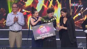 Tiểu Thúy đoạt quán quân Ca sĩ thần tượng 2020