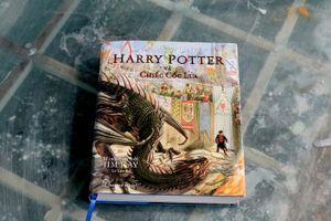 Ra mắt 'Harry Potter và chiếc cốc lửa' phiên bản in màu