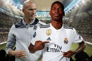 Zidane ra tối hậu thư Real: Có Pogba, hoặc ra đi