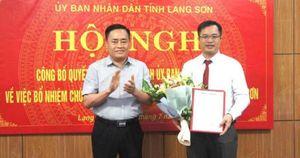 Lạng Sơn có tân Giám đốc Sở GTVT