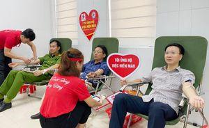 Lan tỏa phòng trào hiến máu tình nguyện tại tuyến đảo