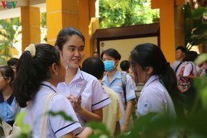 Thi tuyển sinh vào lớp 10 ở TPHCM: Môn ngoại ngữ khá dễ