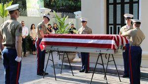 Bàn giao thêm một bộ hài cốt quân nhân Mỹ mất tích trong chiến tranh