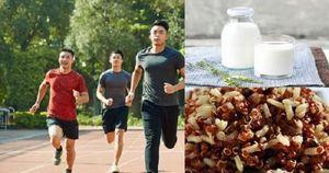 Cảnh báo những thực phẩm không nên ăn trước khi chạy bộ