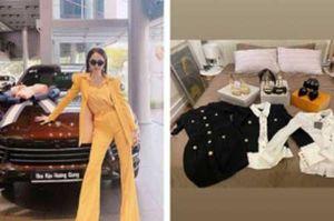 Vừa 'tậu' xế hộp 5 tỷ, Hương Giang lại 'mạnh tay' chi 300 triệu trong 1 lần mua sắm