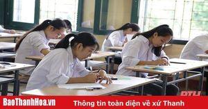 Thanh Hóa: 98,74% thí sinh dự buổi thi đầu tiên Kỳ thi tuyển sinh vào lớp 10 THPT năm học 2020-2021