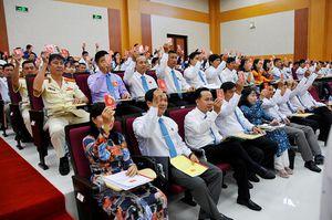 Bế mạc Đại hội đại biểu Đảng bộ huyện Châu Phú (nhiệm kỳ 2020 – 2025)
