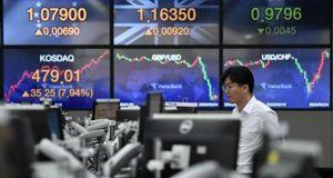 Chứng khoán Nhật - Hàn hồi nhẹ sau cú trượt theo thị trường Trung Quốc
