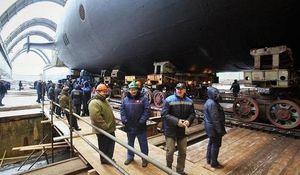 Tàu ngầm hạt nhân chiến lược mang tên lửa 'nguy hiểm nhất thế giới' của Nga đã được hạ thủy